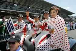 Seiji Ara, Ryo Michigami and Katsumoto Kaneishi