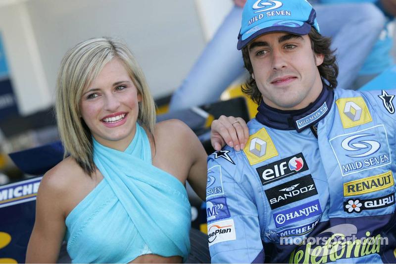 Sesión de fotos de Renault F1 Fernando Alonso