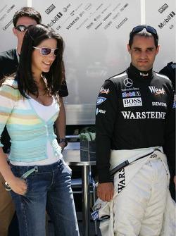 Connie y Juan Pablo Montoya