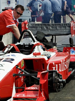#12 Gulfstream/PKV team prepares for qualifying