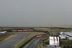 A wet track at Oschersleben