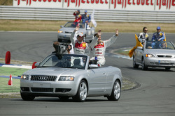 Drivers presentation: Allan McNish and Tom Kristensen