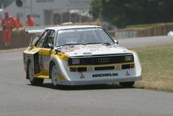 #101 1985 Audi Quattro Sport S1, class 17: Harold Demuth