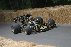 #72 1973 Lotus-Cosworth 72E, class 10: Dan Collins