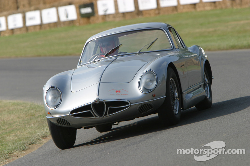 #133 Alfa Romeo 2000 Sportiva de 1954: Richard Gadeselli