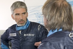 Damon Hill and Jacques Laffite