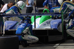 Pescarolo Sport team members at work