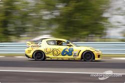 #68 SpeedSource Mazda RX-8: Scott Schlesinger, Jeff Altenburg