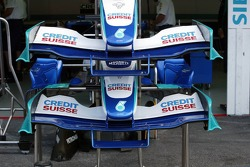 Nose cones of the Sauber