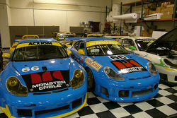 Visit of The Racer's Group race shop in Petaluma