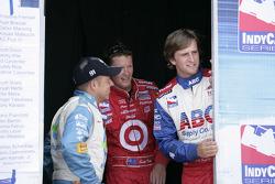 Jimmy Kite, Scott Dixon and A.J. Foyt IV