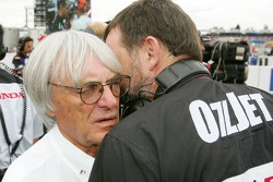 Bernie Ecclestone et Paul Stoddart