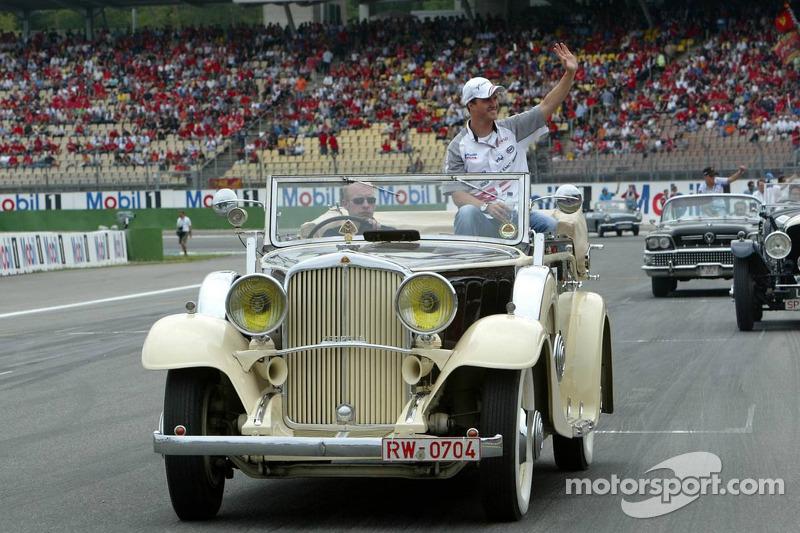 Presentación de pilotos: Ralf Schumacher