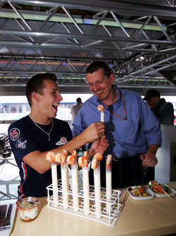 Red Bull Racing Chilled Thirstday part: Christian Klien and Gunther Steiner