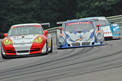 #81 Synergy Racing Porsche GT3 Cup: Mae Van Wijk, David Murry, #67 Krohn Racing/ TRG Pontiac Riley: Tracy Krohn, Nic Jonsson