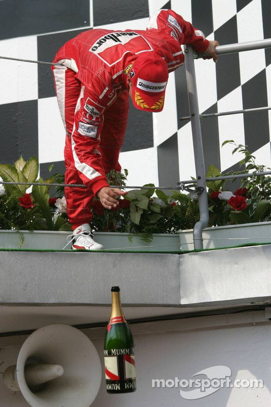 Podium : Michael Schumacher