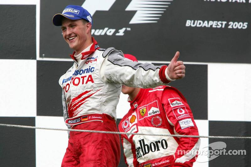 Podio: Ralf Schumacher