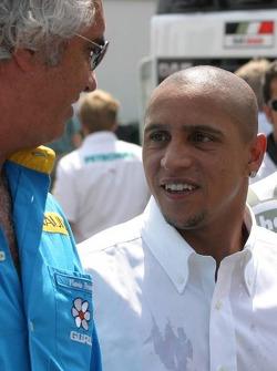 Football player Roberto Carlos