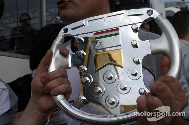Tercer lugar Ralf Schumacher