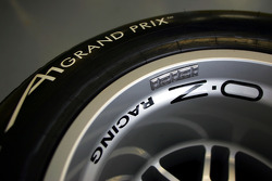 Avon prepare the bespoke Cooper tyres for A1 GP
