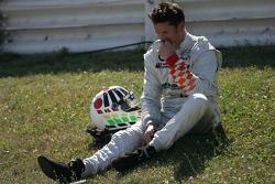 Daniel Colembie after his crash