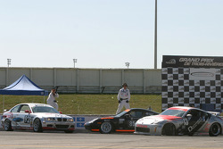 #13 Unitech Racing Nissan 350Z: David Murry, Blake Rosser, #85 Knobel Racing Porsche 996: Joe Fox, Charles Espenlaub, Michael Grande, #92 Anchor Racing BMW M3: John Munson, James Sofronas