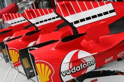 Ferrari engine covers