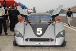 #5 Essex Racing Ford Crawford: Jorge Goeters, Dominic Cicero II, Tom Nastasi