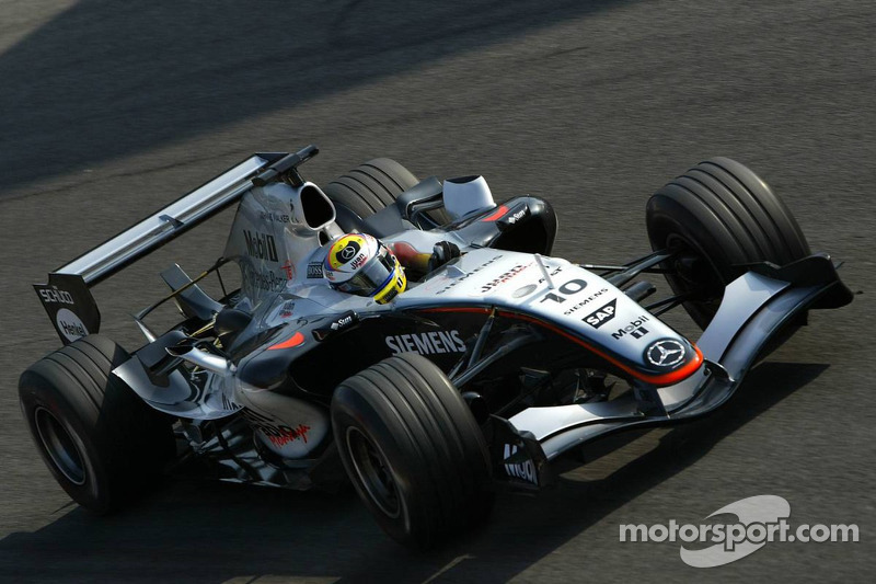 2005: Juan Pablo Montoya (McLaren-Mercedes MP4-20)