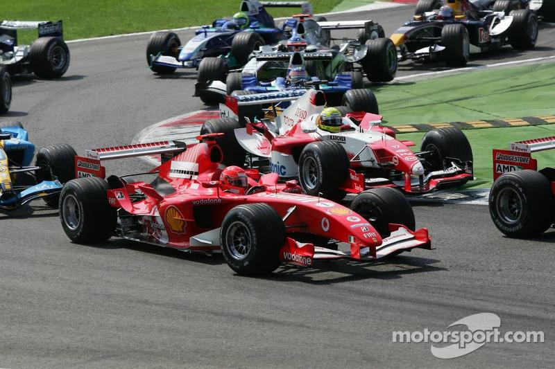 Inicio: Michael Schumacher