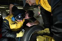 Dunlop technicians at work
