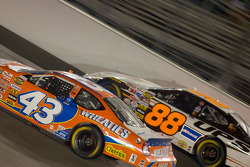 Jeff Green battles with Dale Jarrett
