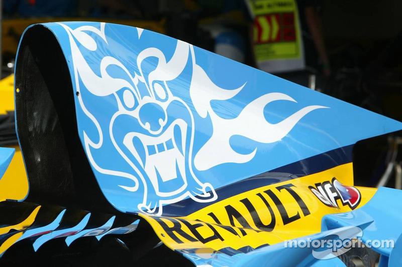 Nueva imagen del Renault F1