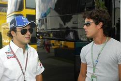 Felipe Massa ve Alexandre Negrao