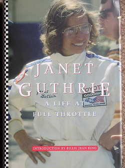Cover of Janet Guthrie's book