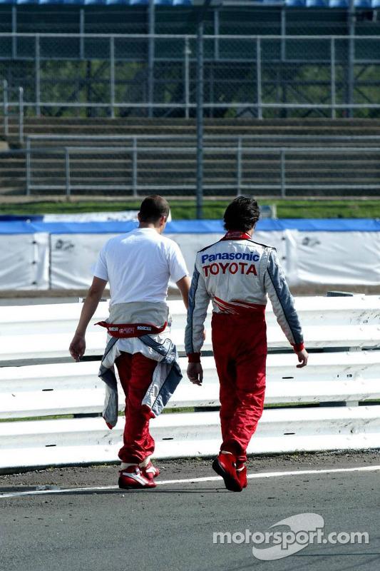 Olivier Panis et Ricardo Zonta