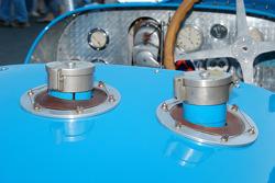 Bugatti filler tubes
