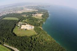 Visit of Michael Schumacher's house in Gland, Switzerland