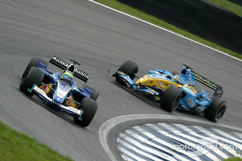 Em 2005, Felipe Massa era um jovem que tentava ganhar espaço, sem pódios, pole positions ou vitórias.
