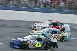 Jimmie Johnson, Jeff Green and Jamie McMurray