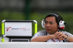 Toyota director of technical coordination Keizo Takahashi