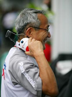 Tsutomu Tomita, président de Toyota