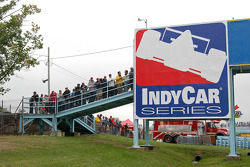 The crowds were like the days when the Grand Prix was staged at the Glen
