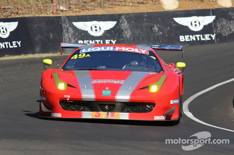 #49 Vicious Rumour Racing Ferrari F458 Italia GT3: Benny Simonsen, Andrea Montermini, Renato Loberto