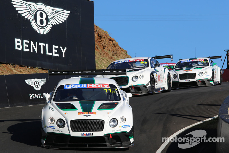 #11 Bentley Team M-Sport, Bentley Continental GT3: Andy Soucek, Maximilian Buhk, Harold Primat
