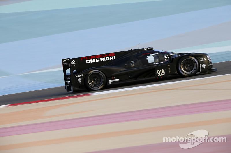 Essais à Bahreïn pour Porsche