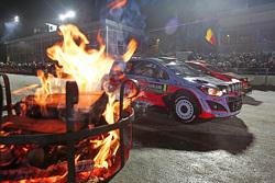Hayden Paddon et John Kennard, Hyundai i20 WRC, Hyundai Motorsport