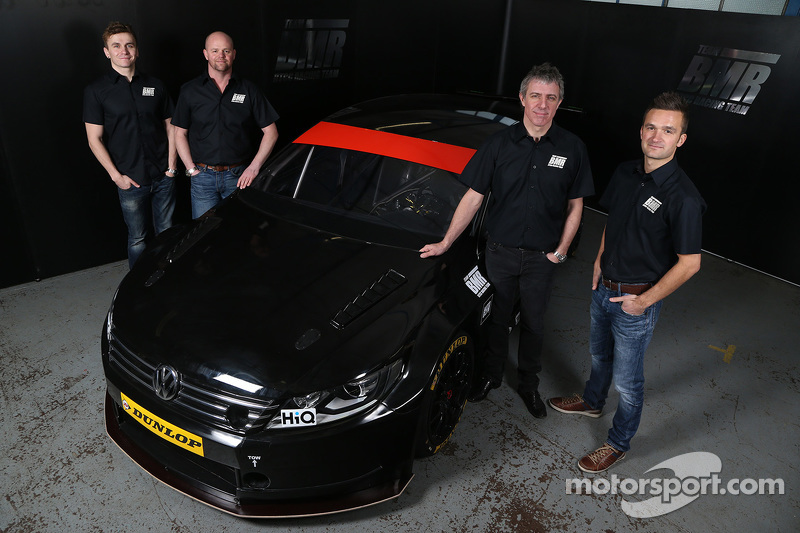Aron Smith, Warren Scott, Jason Plato e Colin Tarkington uniscono le forze per la stagione 2015 BTCC