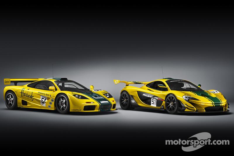 McLaren F1 GTR та McLaren P1 GTR
