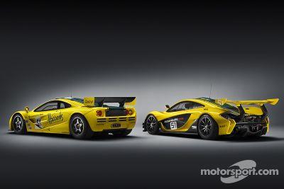 Präsentation McLaren P1 GTR